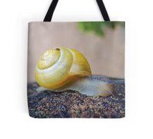 Yellow Snails Bring Joy  Tote Bag
