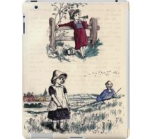 The Little Folks Painting book by George Weatherly and Kate Greenaway 0049 iPad Case/Skin