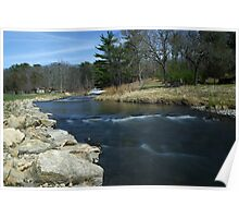 Fording Pine Creek Poster