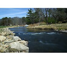 Fording Pine Creek Photographic Print