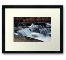 Campbells Falls Framed Print