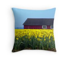 Living With Color. Throw Pillow