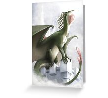 Guard of the East Tower Greeting Card
