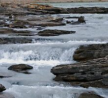 Before the Falls - Athabasca River by Roxanne Persson