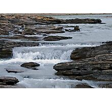 Before the Falls - Athabasca River Photographic Print