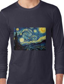 Vincent Van Gogh - Starry night  Long Sleeve T-Shirt
