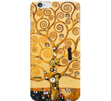 Gustav Klimt - The tree of life iPhone Case/Skin