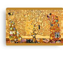 Gustav Klimt - The tree of life Canvas Print