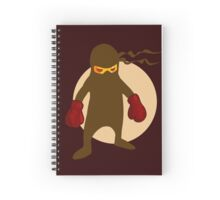 Ninja by Chillee Wilson Spiral Notebook