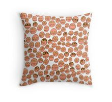 Germs & Bandits Throw Pillow