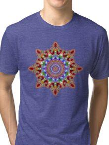'Filigree Star' Tri-blend T-Shirt