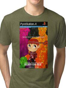Villager Gear Solid 6: Smash Eater Tri-blend T-Shirt