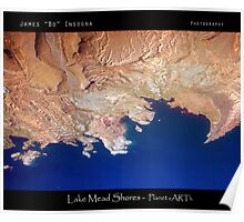 Lake Mead Shores - Planet eARTh Poster
