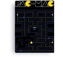 Pac-Mac Canvas Print