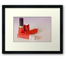 Girls' toys Framed Print