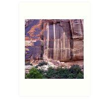 Desert Varnish  Art Print