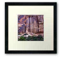 Desert Varnish  Framed Print