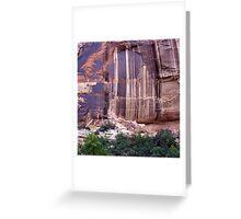 Desert Varnish  Greeting Card