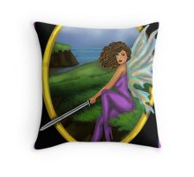 By the Sword Throw Pillow