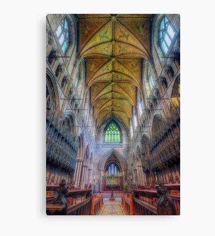 Shining Faith Canvas Print