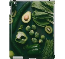 Green food iPad Case/Skin