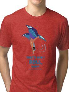 Indian Roller Tri-blend T-Shirt