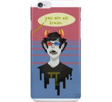 trash son iPhone Case/Skin