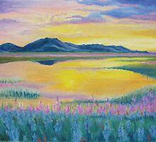Prairie in Bloom by Leslie Gustafson