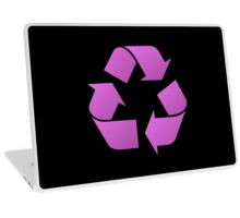 Recycle Symbol by Chillee Wilson Laptop Skin