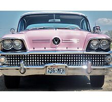 58 Buick Centery,,,,after George's Restoration Photographic Print
