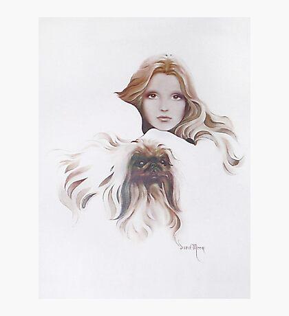 """Catherine"" Oil on Canvas Photographic Print"
