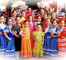 Dance class performance by Bigart32