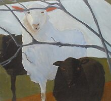 Love Thy Neighbors...Sheep by Kay Hale