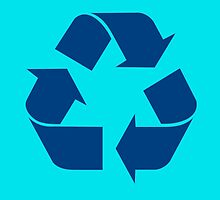 Recycle Symbol by Chillee Wilson by ChilleeWilson