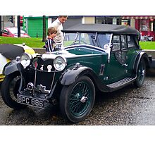 Riley Lynx Tourer 1934 Photographic Print