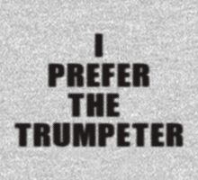 Trumpet Player Sticker - I Prefer The Trumpeter Louis Armstrong T-Shirt Kids Clothes