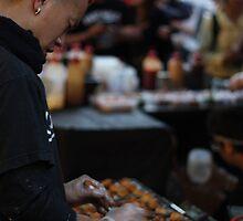 Street food in Chatswood by Dean Woodyatt