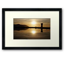 The Wetlands at Sunset Framed Print