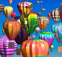 99 Luftballons by Desirée Glanville
