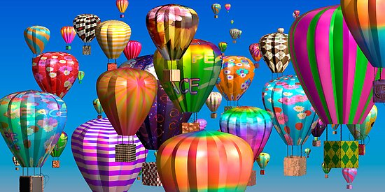99 Luftballons by Desirée Glanville AKA DevineDayDreams
