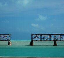 The Keys bridge to nowhere Man by Clubohara
