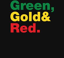 Green, Gold & Red. Tank Top