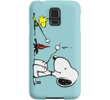 Snoopy and Woodstock Marshmallow Samsung Galaxy Case/Skin