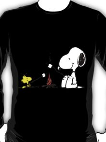 Snoopy and Woodstock Marshmallow T-Shirt