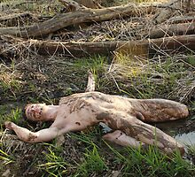 Spring Thaw - Naked In The Mud by Adonis Imagery