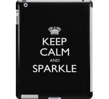 Keep Calm And Sparkle - Tshirts iPad Case/Skin
