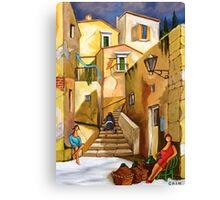 REFILL THE WINE Canvas Print