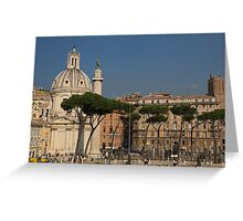 Rome - Umbrella Pines and Sunshine  Greeting Card