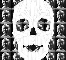 Twiggy Skull by desgrange