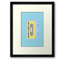 Chillee's Mixed Tape 1 by Chillee Wilson Framed Print